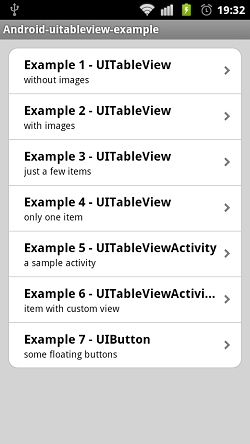 android UItableView 03